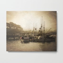Harbor Dawn Metal Print