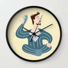 Sleepover tony Wall Clock