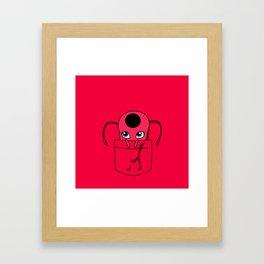 Tikki Pocket Tee Framed Art Print