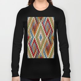 kilim rug pattern Long Sleeve T-shirt