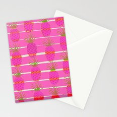 Pink Pineapples Stationery Cards