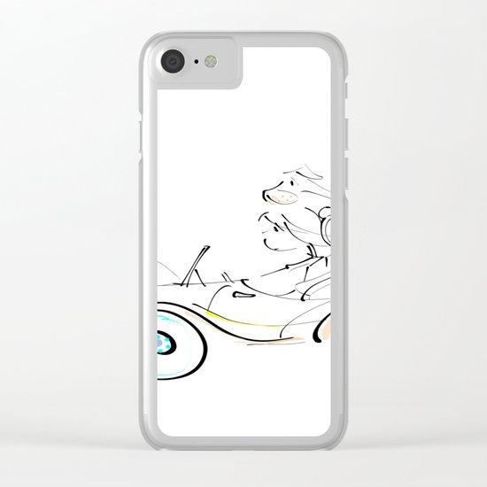 fun ride Clear iPhone Case