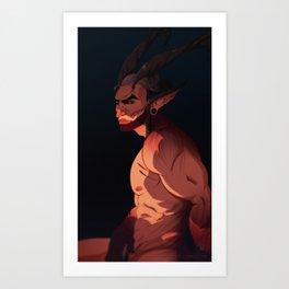 Aurel Art Print
