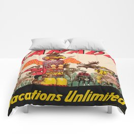 Vintage poster - Canada Comforters