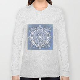 Paisley Moon Henna Mandala Long Sleeve T-shirt