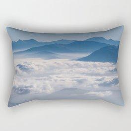 Follow me into the clouds #plane #air Rectangular Pillow