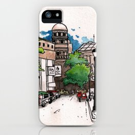 Philippines : Santa Cruz Church iPhone Case