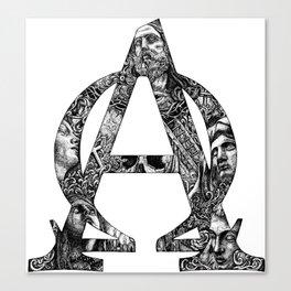 Alpha/Omega Canvas Print