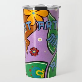 eat art Travel Mug