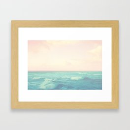 Sea Salt Air Framed Art Print