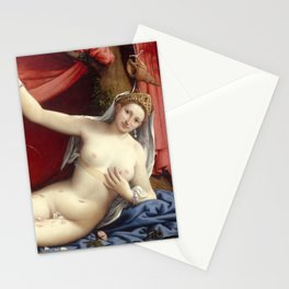 Lorenzo Lotto - Venus and Cupid Stationery Cards