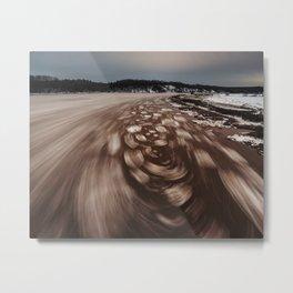 Midnight Tide Metal Print