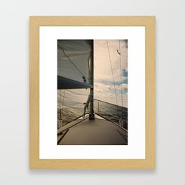 Heel Framed Art Print