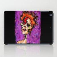 aladdin iPad Cases featuring Aladdin Sane by brett66