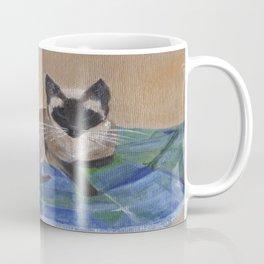 Siamese Napping Coffee Mug