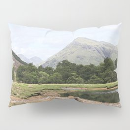 Here is realization - Glen Etive, Scotland Pillow Sham