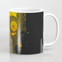 c3po Mugs featuring C3PO Splash by Sitchko Igor