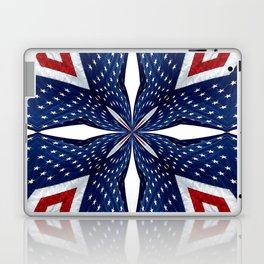 American Flag Kaleidoscope Abstract 3 Laptop & iPad Skin