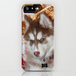 Husky Eyes iPhone Case