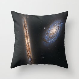 Space Galaxy Throw Pillow