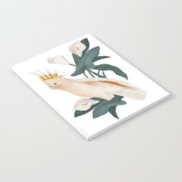 Pink Cockatoo Notebook