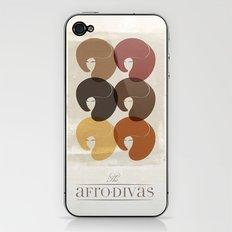 The Afro Divas iPhone & iPod Skin