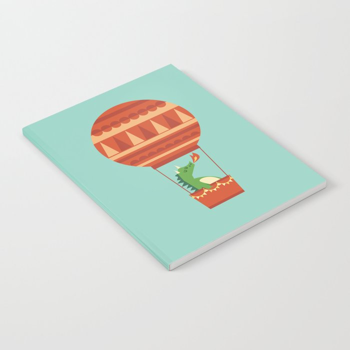 Dragon On Hot Air Balloon Notebook
