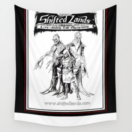 Shifted Lands Live-Action Role-Playing Game Promo Poster Wall Tapestry