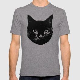 Purple Streak Quad Cat T-shirt