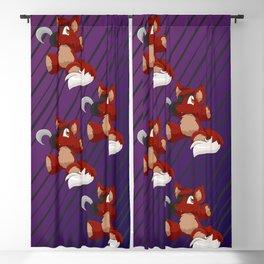 Foxie Plushie Blackout Curtain