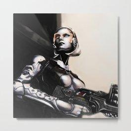 Unshackled A.I. Metal Print