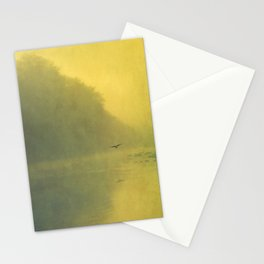 soft reflection Stationery Cards