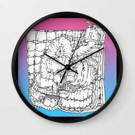 Appointment At The Phat Clinic Wall Clock