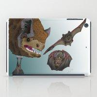 bats iPad Cases featuring Bats by Akira Hikawa