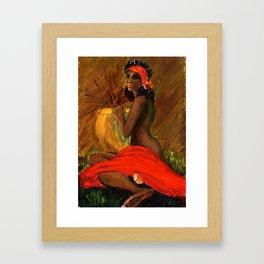 Ursaline    Framed Art Print