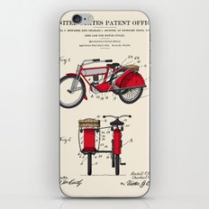 Motorcycle Sidecar Patent 1912 iPhone & iPod Skin