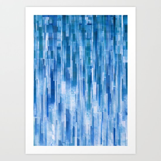Rain (Clouds Remix) Art Print