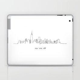 New York City Skyline Drawing Laptop & iPad Skin