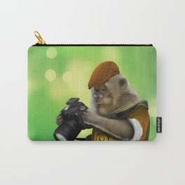 Photographer of the apes iPhone 4 4s 5 5c 6 7, pillow case, mugs and tshirt Carry-All Pouch