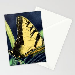 Yellow Tiger Swallowtail Butterfly A125 Stationery Cards