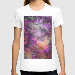 Purple wall T-shirt