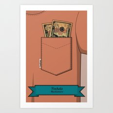 Pockets - Macklemore - Art Print