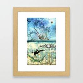 High Tide  - 4:20 Framed Art Print
