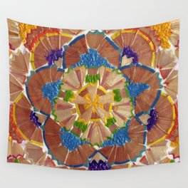 Pencil shavings III Wall Tapestry