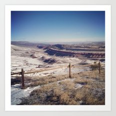 Red Canyon, Wyoming Landscape Photograph Art Print
