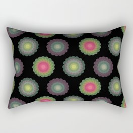 transparent floral patterns 2 Rectangular Pillow