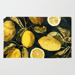 Lemon and Leaf Pattern V Rug
