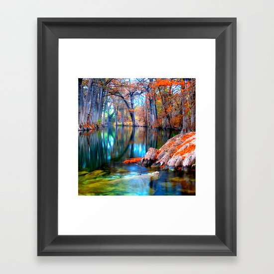 That for Which I'm Thankful Framed Art Print