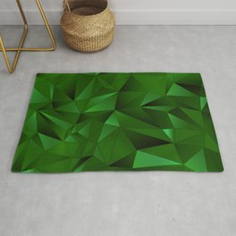 Rough Gems ~ Emerald Rug