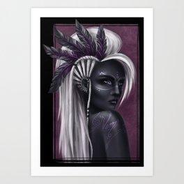 Cherokee Art Print